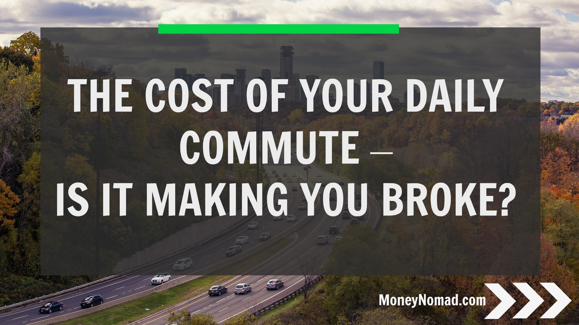 The cost of your dialy commute - is it making you broke