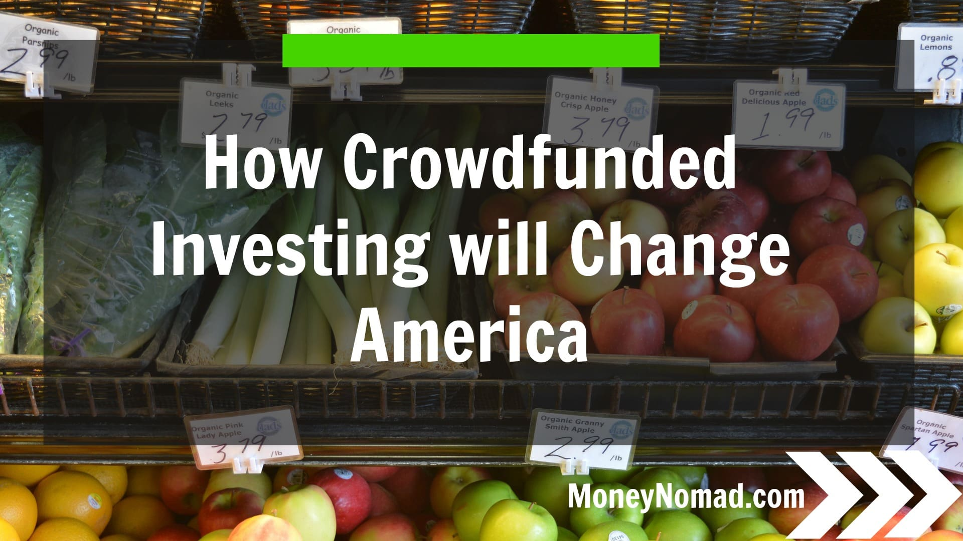 How Crowdfunded Investing will Change America