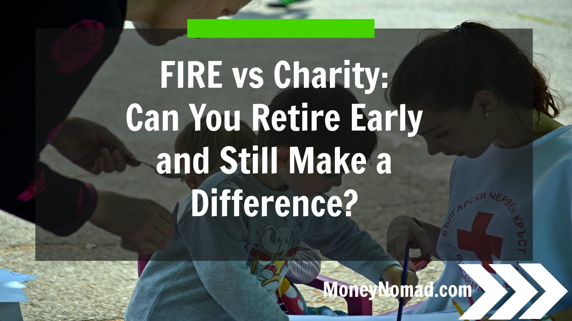 Can you retire early and still make a difference