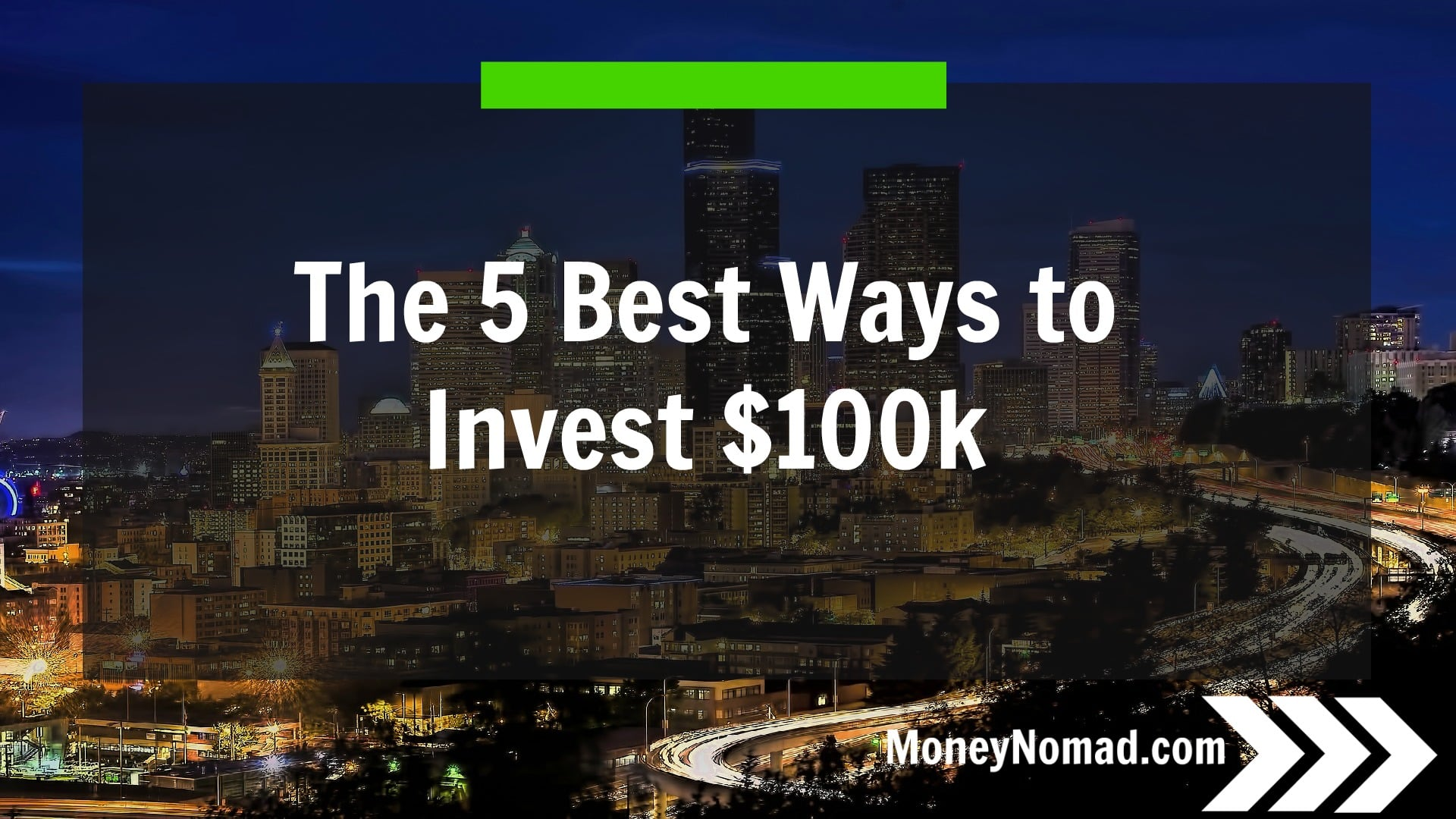 Best option to invest money for 5 years